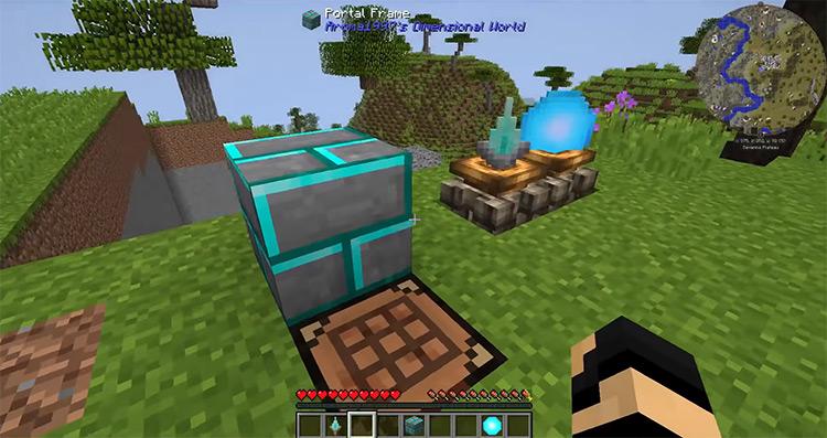 Aroma1997s Dimensional World Minecraft mod