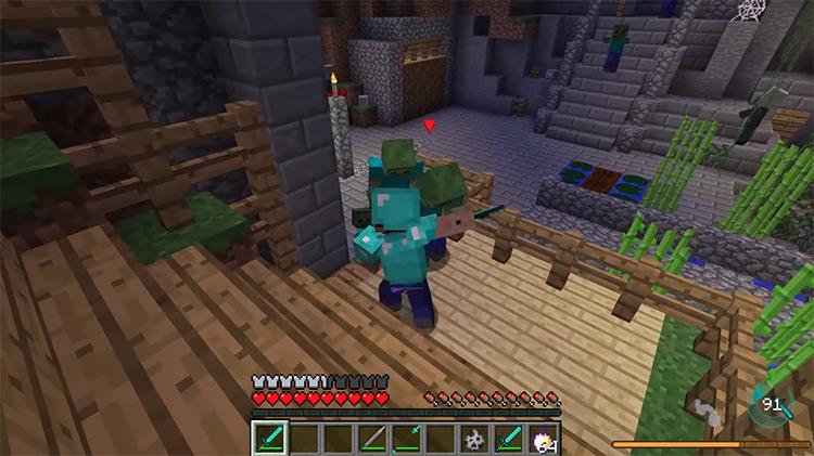 Epic Fight Mod Minecraft screenshot