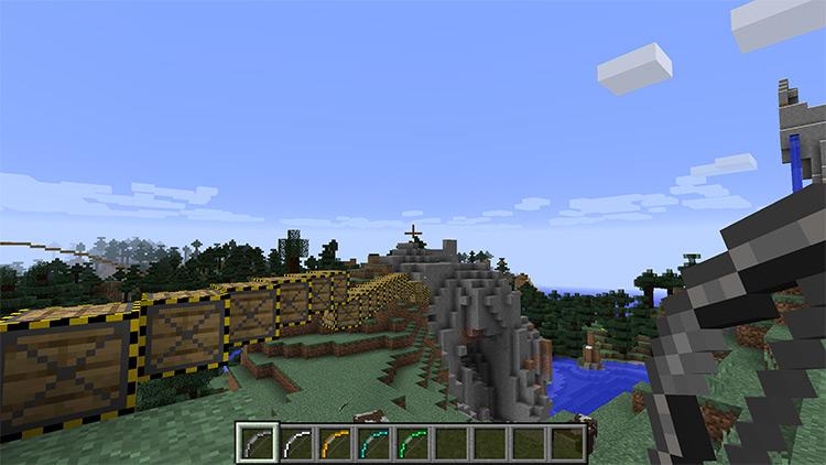 Extra Bows Minecraft mod