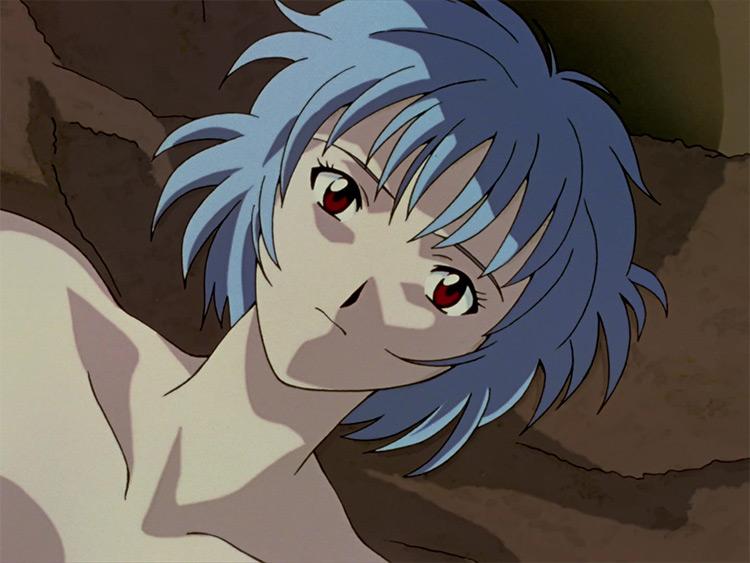 Rei Ayanami from Neon Genesis: Evangelion