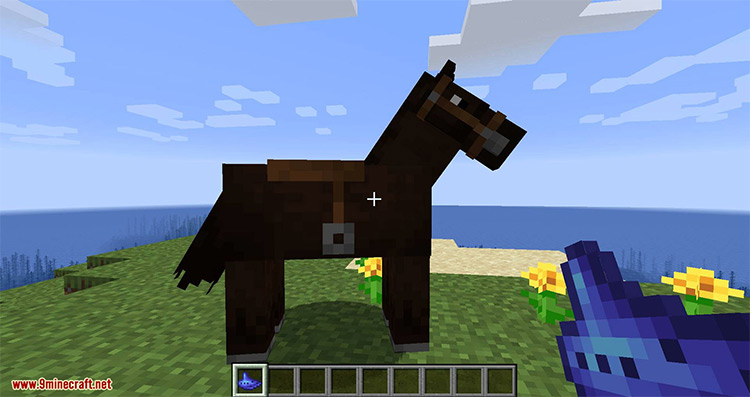 Dude, Where's My Horse? mod for Minecraft