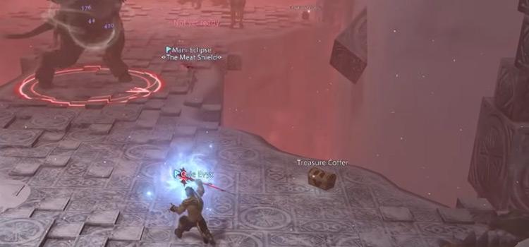 Instanced Dungeon Battle in FFXIV
