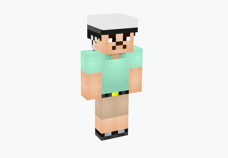 Happy Wheels Dad Character / Minecraft Skin