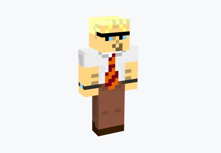 Dad from Dexter's Laboratory / Minecraft Skin