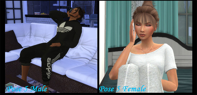 Miss Hearing Your Voice Poses for The Sims 4