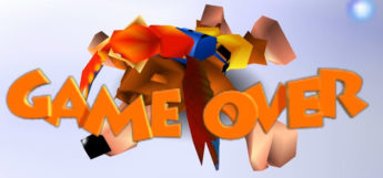 Banjo-Kazooie N64 Game Over Preview