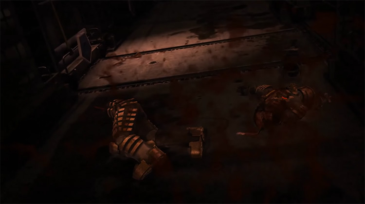 Dead Space (2008) Game Over Screen