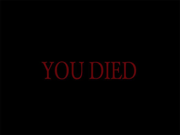 Dark Souls 1 (2011) Game Over