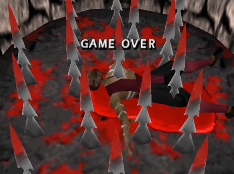 Mortal Kombat 4 (1997) Game Over