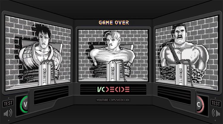 Final Fight 3 Game Over Screenshot