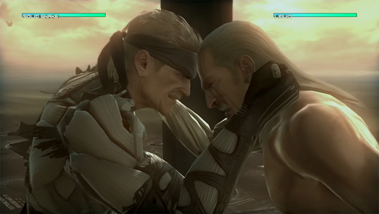 Liquid Ocelot MGS4 gameplay screenshot
