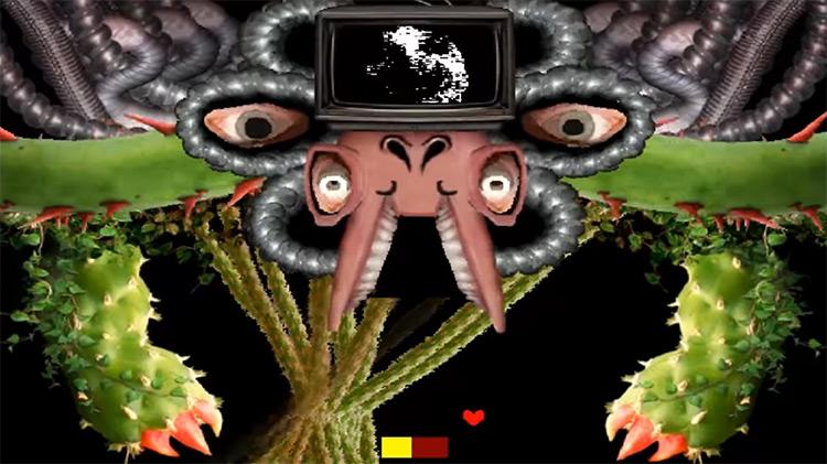 Omega Flowey Undertale game screenshot