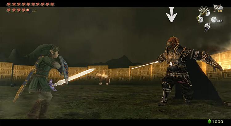 Ganondorf in TLOZ: The Twilight Princess game