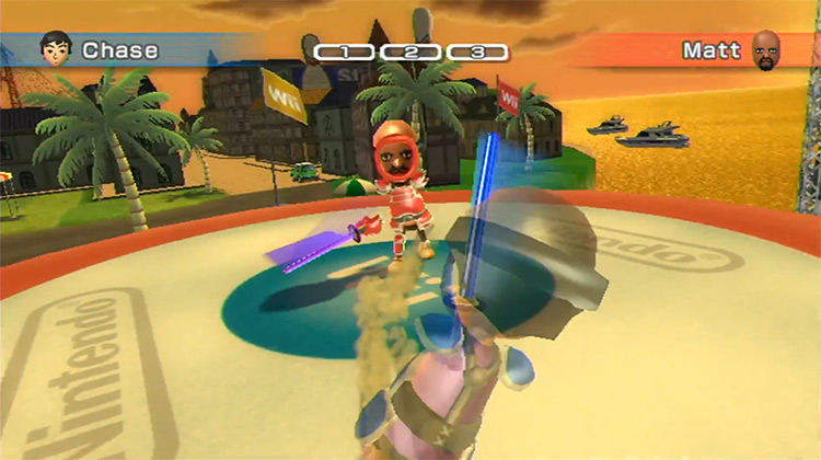 Matt Wii Sports Resort Final Boss