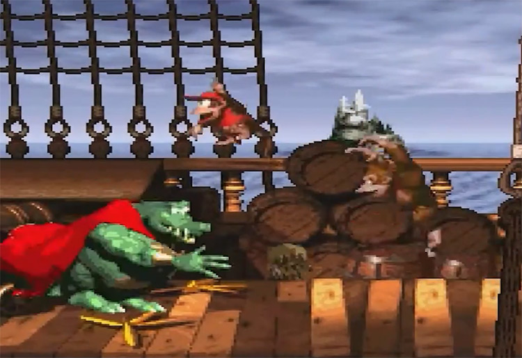King K. Rool in Donkey Kong Country SNES