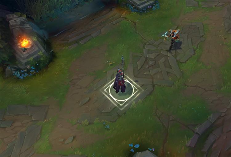 Akshan LoL gameplay screenshot