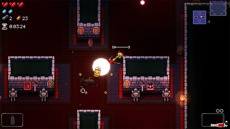 Enter the Gungeon Casey gameplay screenshot