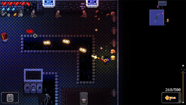 Enter the Gungeon AKEY-47 gameplay screenshot
