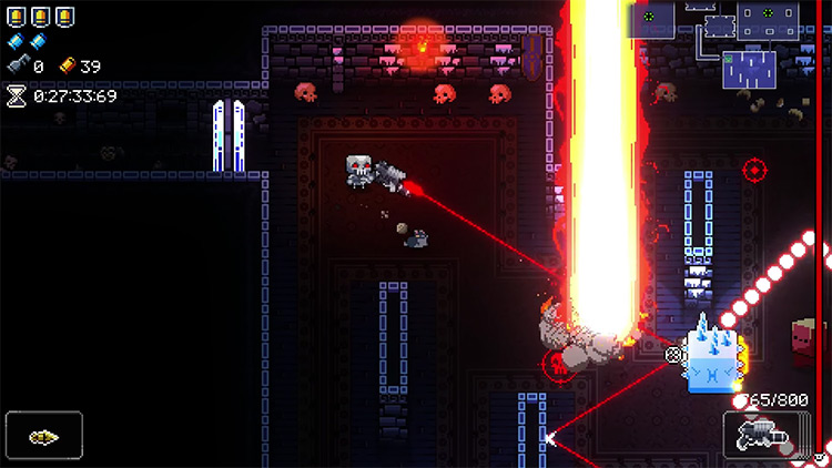 Enter the Gungeon Mourning Star gameplay screenshot