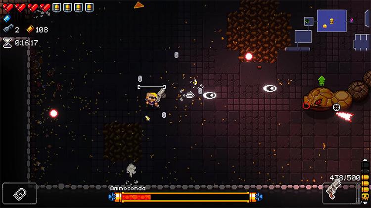 Enter the Gungeon Finished Gun gameplay screenshot
