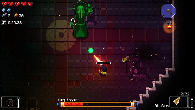 Enter the Gungeon AU Gun gameplay screenshot