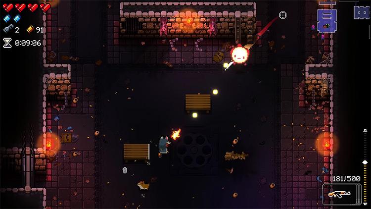 Enter the Gungeon AK-47 gameplay screenshot