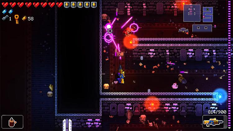 Enter the Gungeon Rubenstein's Monster gameplay screenshot