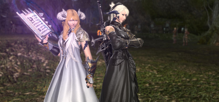 FFXIV Two Characters Queuing For Dungeon
