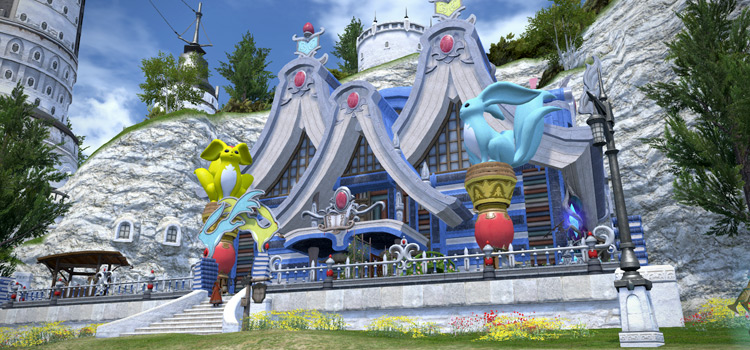 Carbuncle Mansion Home in Final Fantasy XIV