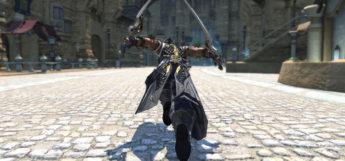 Ninja Posing with Glam in Final Fantasy XIV