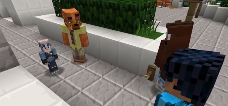 Police Officers Juddy in Minecraft Zootopia Screenshot
