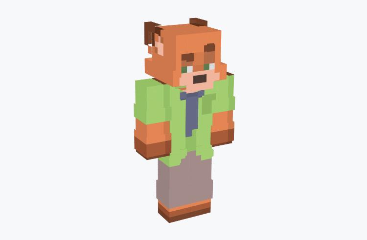 Nick Wilde from Zootopia / Minecraft Skin