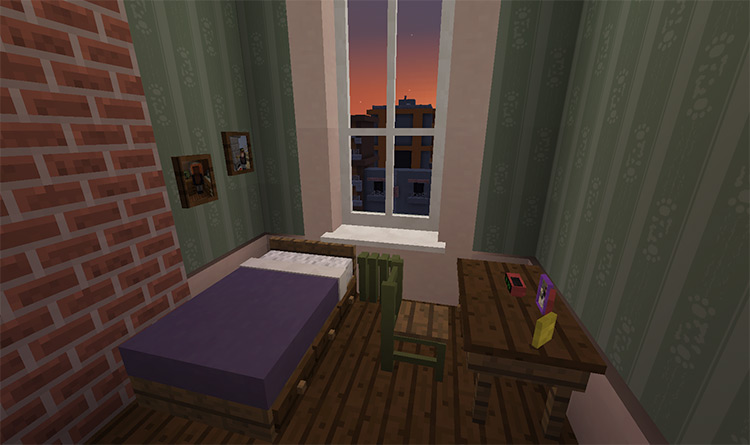 Zootopia Judy's Room User-Made Map for Minecraft