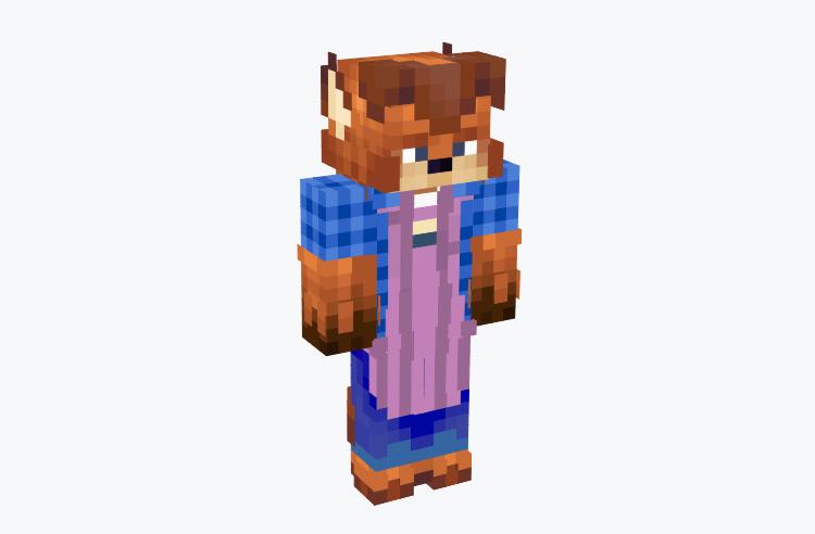 Gideon Grey from Zootopia / Minecraft Skin