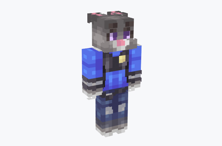 Realistic Juddy from Zootopia / Minecraft Skin