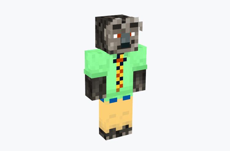 Flash Slothmore from Zootopia / Minecraft Skin