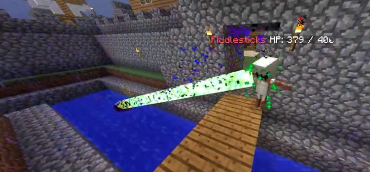 League Fiddlesticks Skin in Minecraft