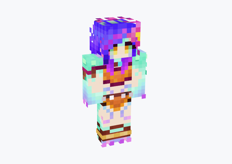 Neeko LoL Champion / Minecraft Skin
