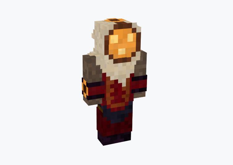 Bard League of Legends Champion / Minecraft Skin