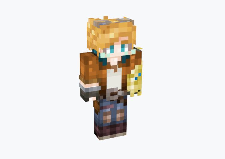 Ezreal League of Legends Champion / Minecraft Skin