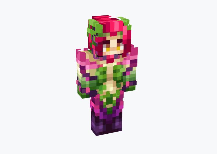 Zyra LoL Champion / Minecraft Skin