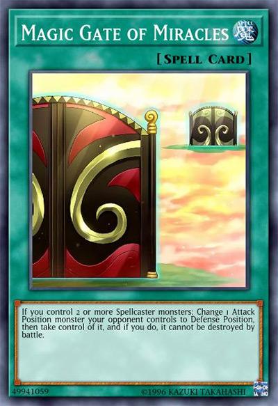 Magic Gate of Miracles Yu-Gi-Oh Card