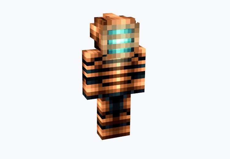 Isaac Clarke from Dead Space / Minecraft Skin
