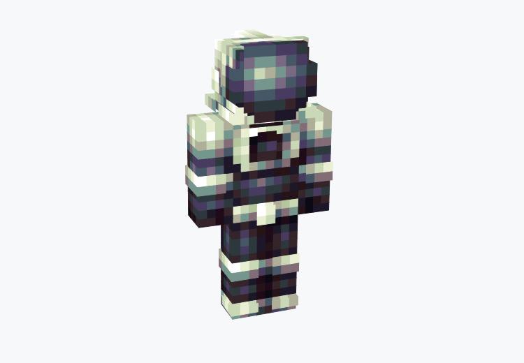 Futuristic Astronaut Design / Minecraft Skin