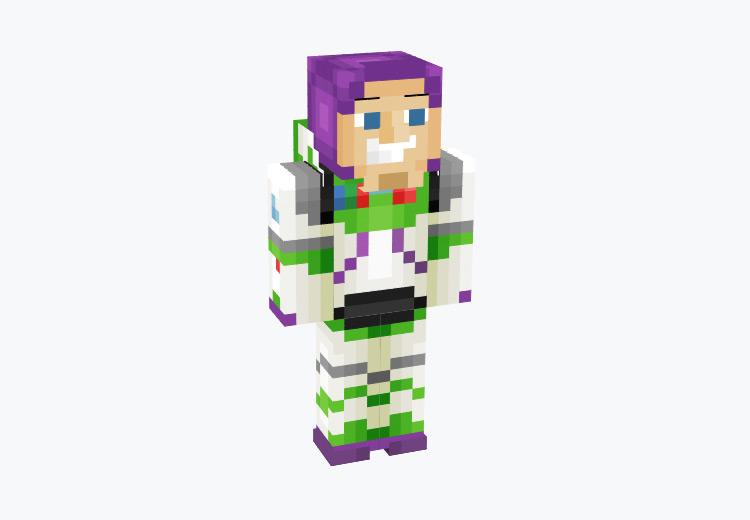 Buzz Lightyear from Toy Story / Minecraft Skin