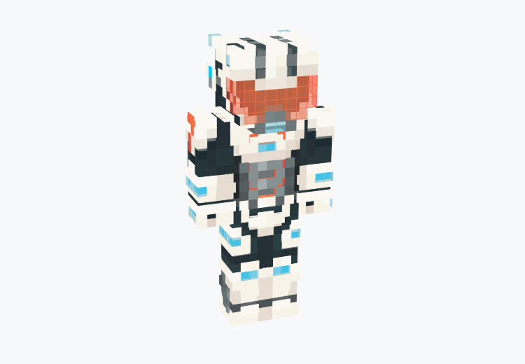 Space Racer Character / Minecraft Skin
