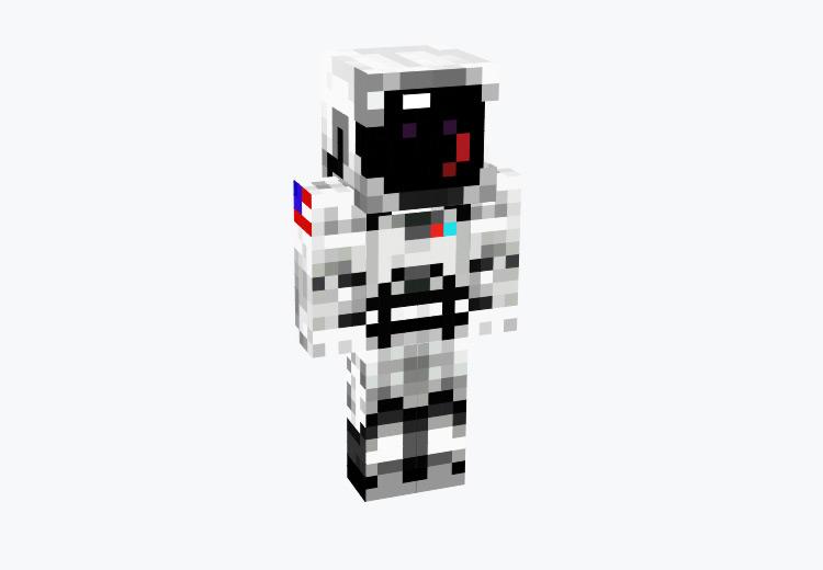 Classic Astronaut Design / Minecraft Skin
