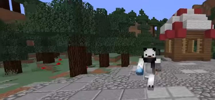 White Polar Bear Skin in Minecraft