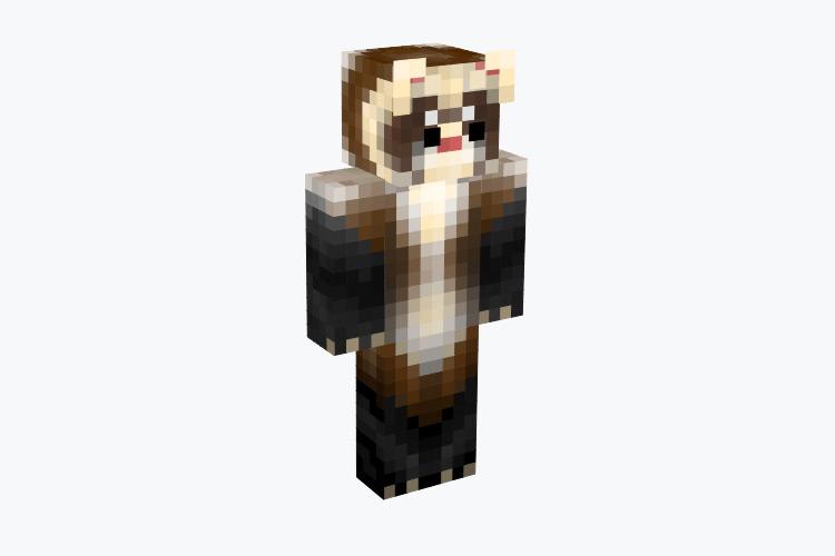 Tall Ferret Character / Minecraft Skin