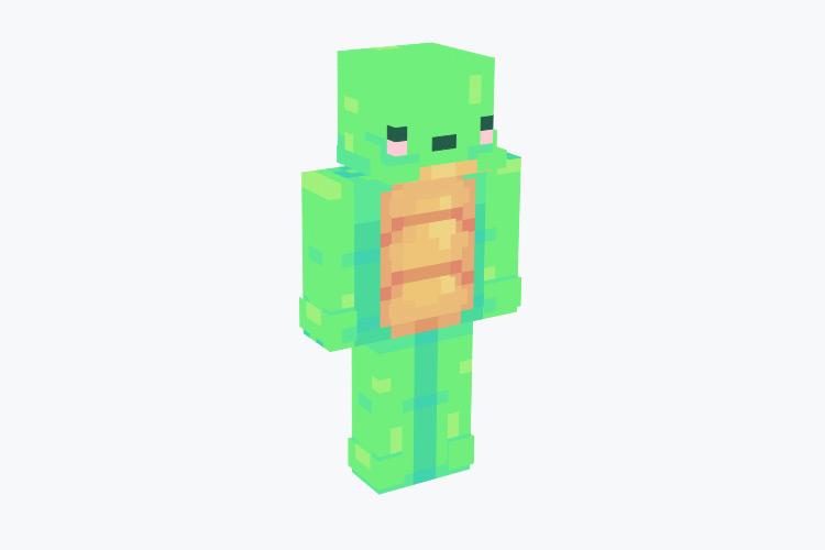 Green Turtle / Minecraft Skin